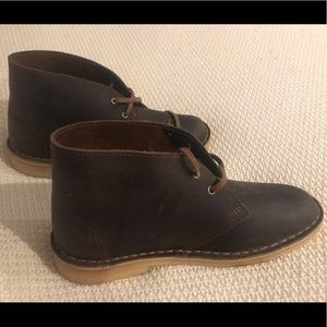 Clarks Desert Boots, 8, Brown Leather - NWOT